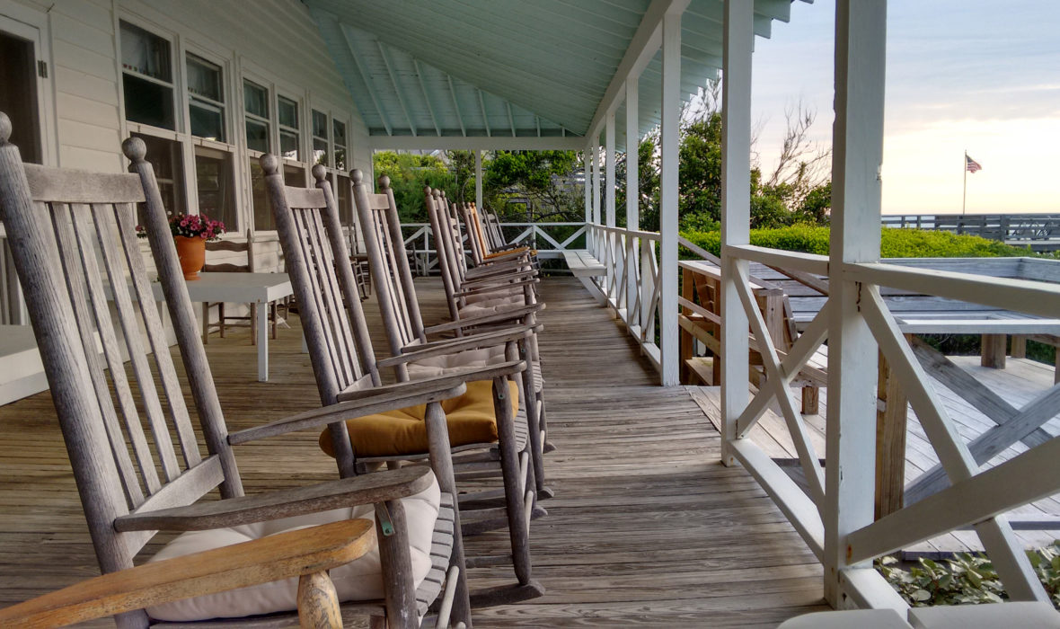 Sea View Inn porch