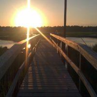 Sea View Crab Dock Sunset