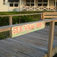 Sea View Inn Sign