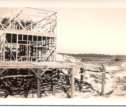 Construction of Current Inn 1954